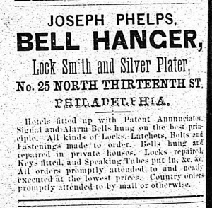 Advertisement from the 1867-68 Philadelphia City Directory.
